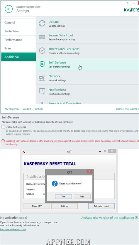 how to reset kaspersky pure 3 0 trial manually kaspersky crystal pure trial reset harthere