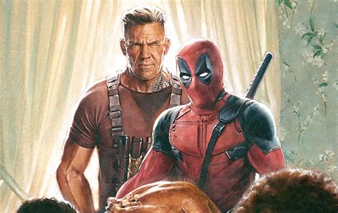 deadpool 2 trailer bob ross deadpool 2 trailer bob ross cable domino slashgear