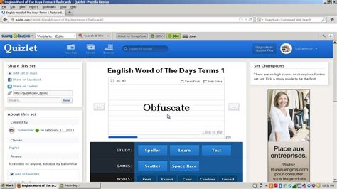 llama tutorial flashcards quizlet quot how to use quizlet quot youtube
