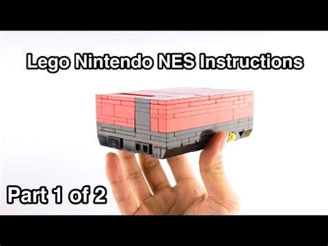 lego nes tutorial full download lego pistol instructions part 1 of 2