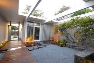 atrium homes eichler atrium midcentury landscape san francisco
