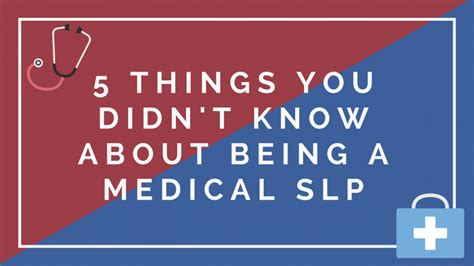 5 Things That Are For You by 5 Things You Didn T About Being A Slp