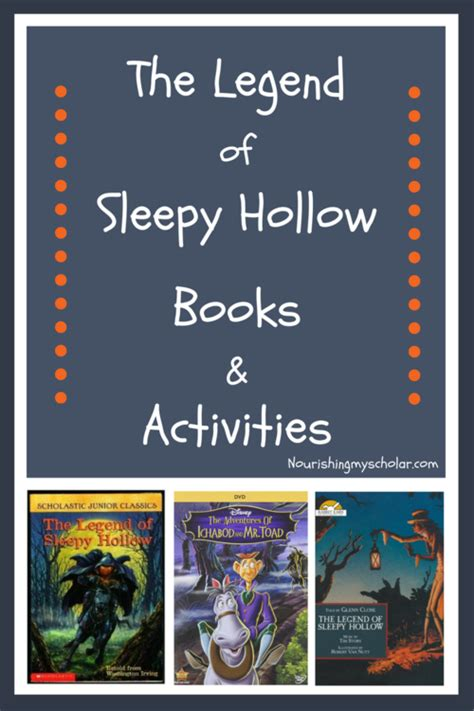 in the holler books the legend of sleepy hollow books activities