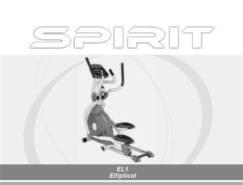 spirit home el1 user guide manualsonline