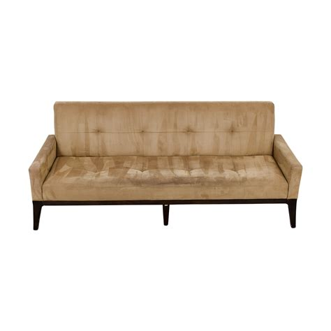 used settee used tufted sofa novogratz vintage tufted sofa sleeper ii