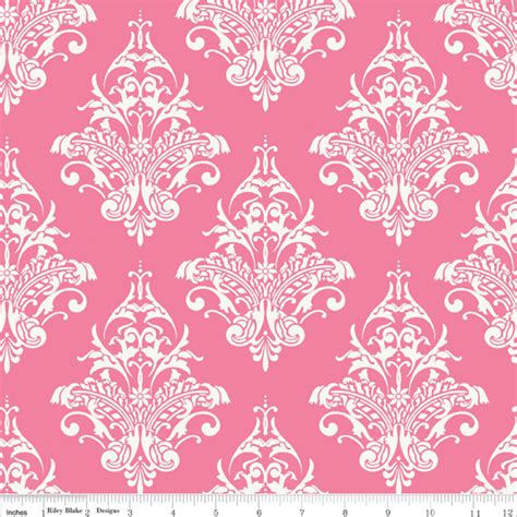 pink designs c3211 pink remember damask in pink fabric fly
