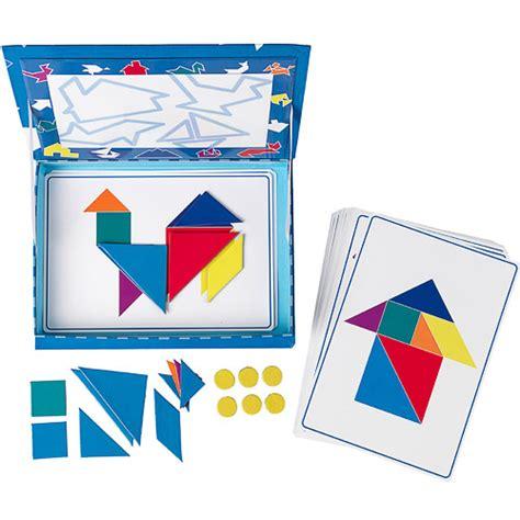 figuras geometricas juegos gratis juego de mesa para armar figuras tangram magneto tangram