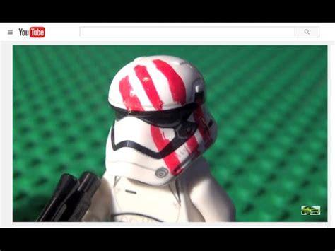 Lego Finn Trooper Starwars review lego wars custom stormtrooper finn bloody figure awakens