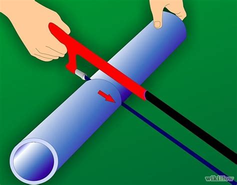 How To Cut Plastic Plumbing Pipe by How To Cut Pvc Pipe