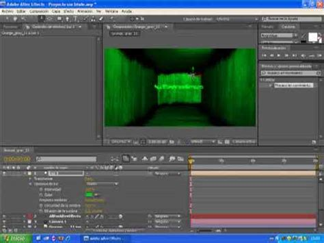 after effects cs4 tutorial tutorial after effects cs4 cuarto 3d youtube