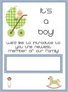 its a boy baby card