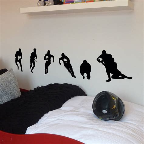 rugby wall stickers rugby gifts shop and rugby gifts store supplying unique
