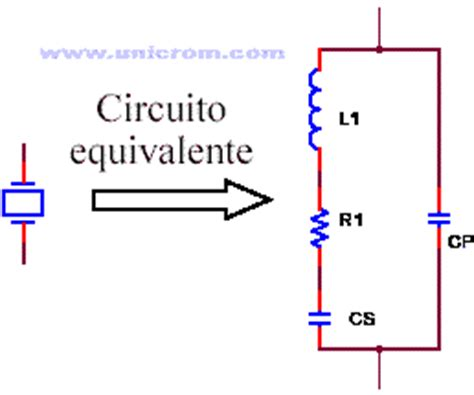 o que é capacitor equivalente val3n info osciladores a cristal