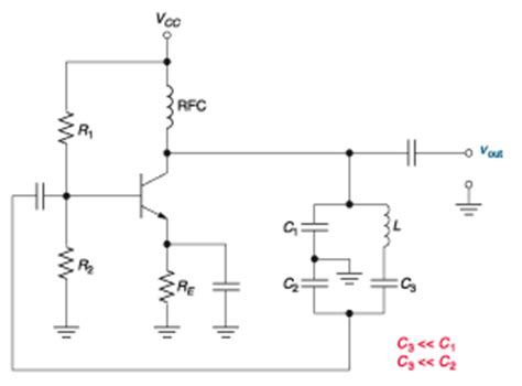 colpitts oscillator capacitor values colpitts oscillator capacitor ratio 28 images oscillators colpitts oscillator tutorial and