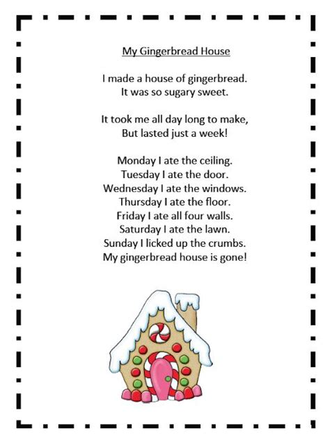 the house that god built stories and poems by g g books grade onederful my gingerbread house poem gingerbread
