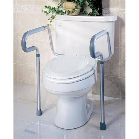 bathroom safety rail medline toilet safety rails g30300h shoplet com