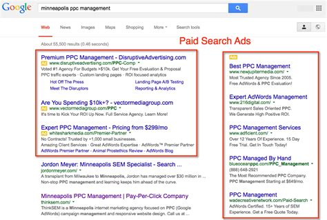 Search No Ads Introduction To Pay Per Click Marketing What Is Ppc