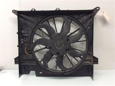 volvo xc radiator cooling fan assembly  ebay