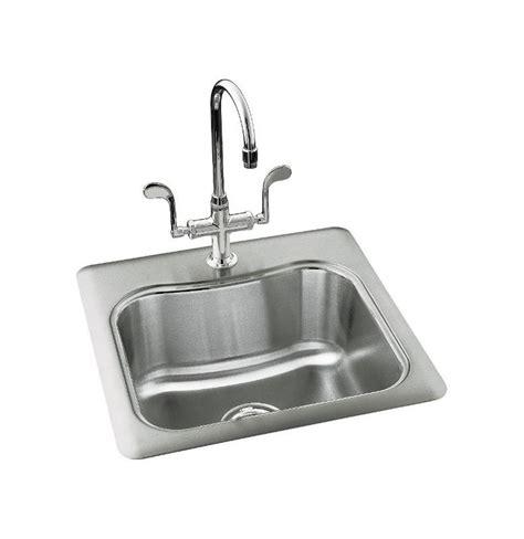 kohler bar sink stainless kohler k 3363 1 na stainless steel single basin stainless
