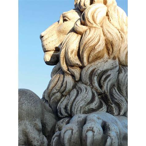 lioni da giardino coppia leoni colosseo statue da giardino animali
