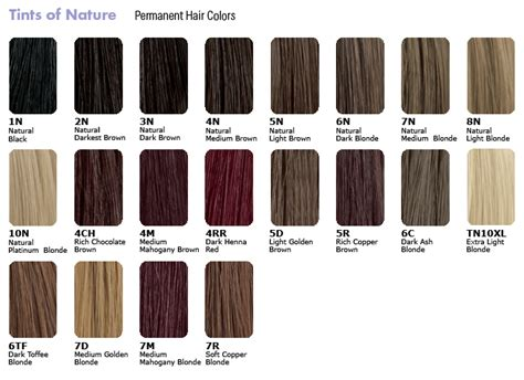 Types Of Color Hair by Types Of Hair Colors In 2016 Amazing Photo