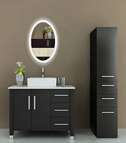 led bathroom mirror 18 inch x 30 inch lighted vanity oval led bathroom mirror 20 inch x 30 inch lighted