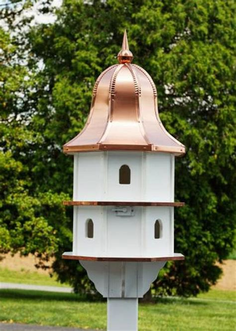 large bird houses large poly birdhouse by dutchcrafters amish furniture