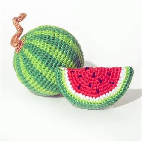 amigurumi watermelon pattern 122 best images about crochet food fruit and vegetables on