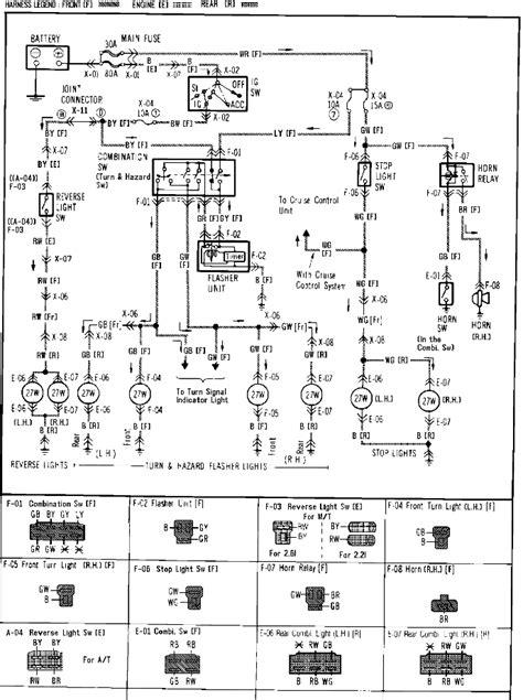 1982 1983 mazda b2000 b2200 truck repair shop manual original 1986 mazda b2000 wiring diagram wiring diagram