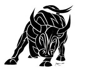tribal bull tattoo picture by artistant photobucket p o