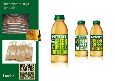 Nescafe Green Coffee nescafe green coffee packaging redesign kelso