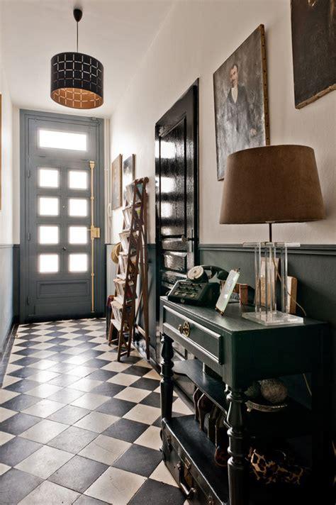 Foyer Zeitschrift by Foyer Flooring Inspiration Black White Checkered Tile