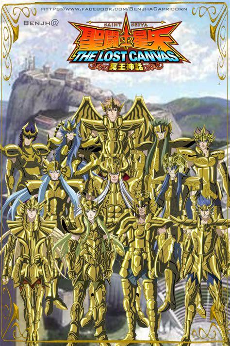 fuentes de informacin los 12 caballeros de oro saint seiya the lost canvas manga y anime taringa
