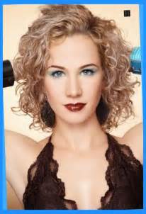 hairstyles for medium length permed hair with layers medium length layered curly spiral perm hairstyle picture