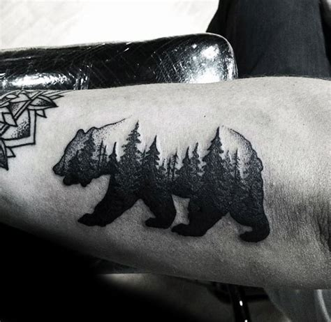 simple bear tattoo inspirational small animal tattoos and designs for animal
