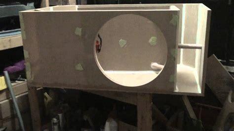 home theater subwoofer box build sundown audio