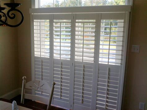 Plantation Shutters For Sliding Glass Door by Plantation Shutters For Sliding Glass Doors Pictures To