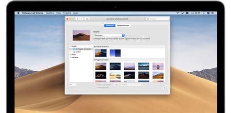 foto scrivania mac cambiare l immagine della scrivania sfondo sul mac