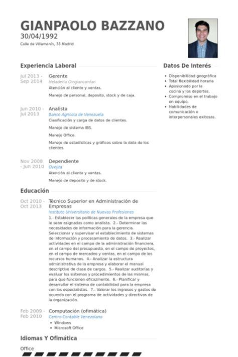 Modelo Curriculum Gerente General Gerente Ejemplo De Curr 237 Culum Base De Datos De Visualcv Muestras De Curr 237 Culos