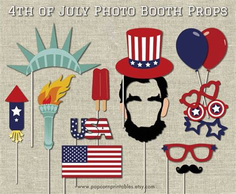 farm photo booth props diy instant download by 4th of july photos photo booths and farm animals on pinterest