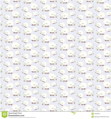 new year sheep pattern seamless sheep pattern happy new year 2015 illustration