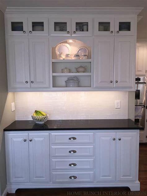 Cabinet Pantry before after kitchen reno with painted cabinets home bunch interior design ideas