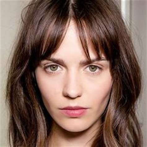 should i get bangs for my hair to hide wrinkles 1000 images about hair on pinterest bangs zooey