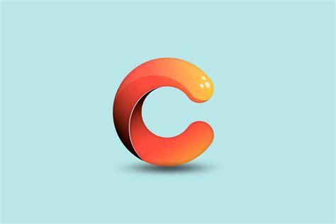 Abode Illustrator cc   Professional 3D Logo Design ... C- Logo