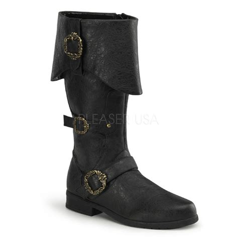 mens pirate boots costume mens carribean pirate boots thevikingstore co uk