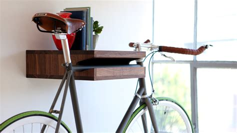 Bike Wall Shelf by Knife Saw Home Of The Bike Shelf Other Wooden Objects