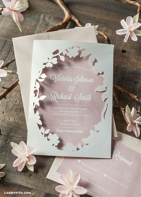 How To Make Wedding Invitations On Cricut