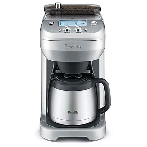 bed bath coffee maker breville 174 grind control coffee maker bed bath beyond