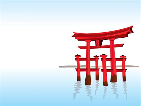 japan powerpoint template free asian architecture backgrounds business engineering