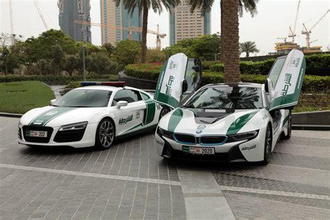 Bmw I8 Audi R8 by Dubai Tourist Patrols Section Audi R8 And Bmw I8